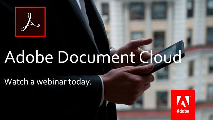 Adobe Document Cloud 03.28.17